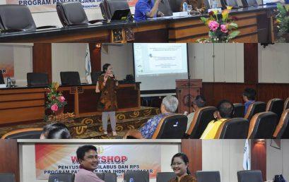 Gelar Workshop Penyusunan Silabus Dan RPS