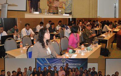 Lokakarya Penyusunan Borang Akreditasi Institusi
