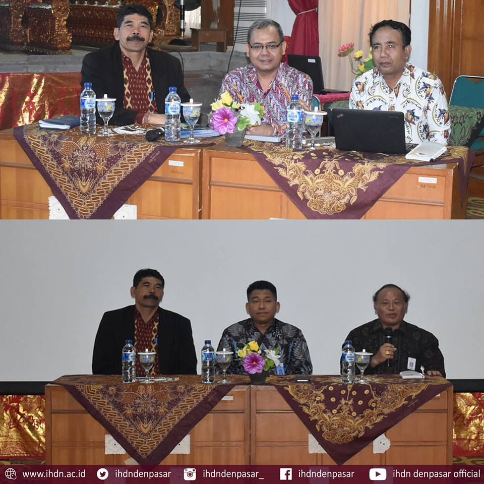 Pembinaan Zona Integritas dan Pengendalian Internal IHDN Denpasar