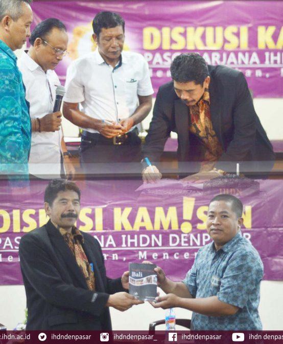 Rektor IHDN Siap Bekerjasama dengan Asosiasi Media Online