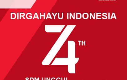 DIRGAHAYU REPUBLIK INDONESIA 74