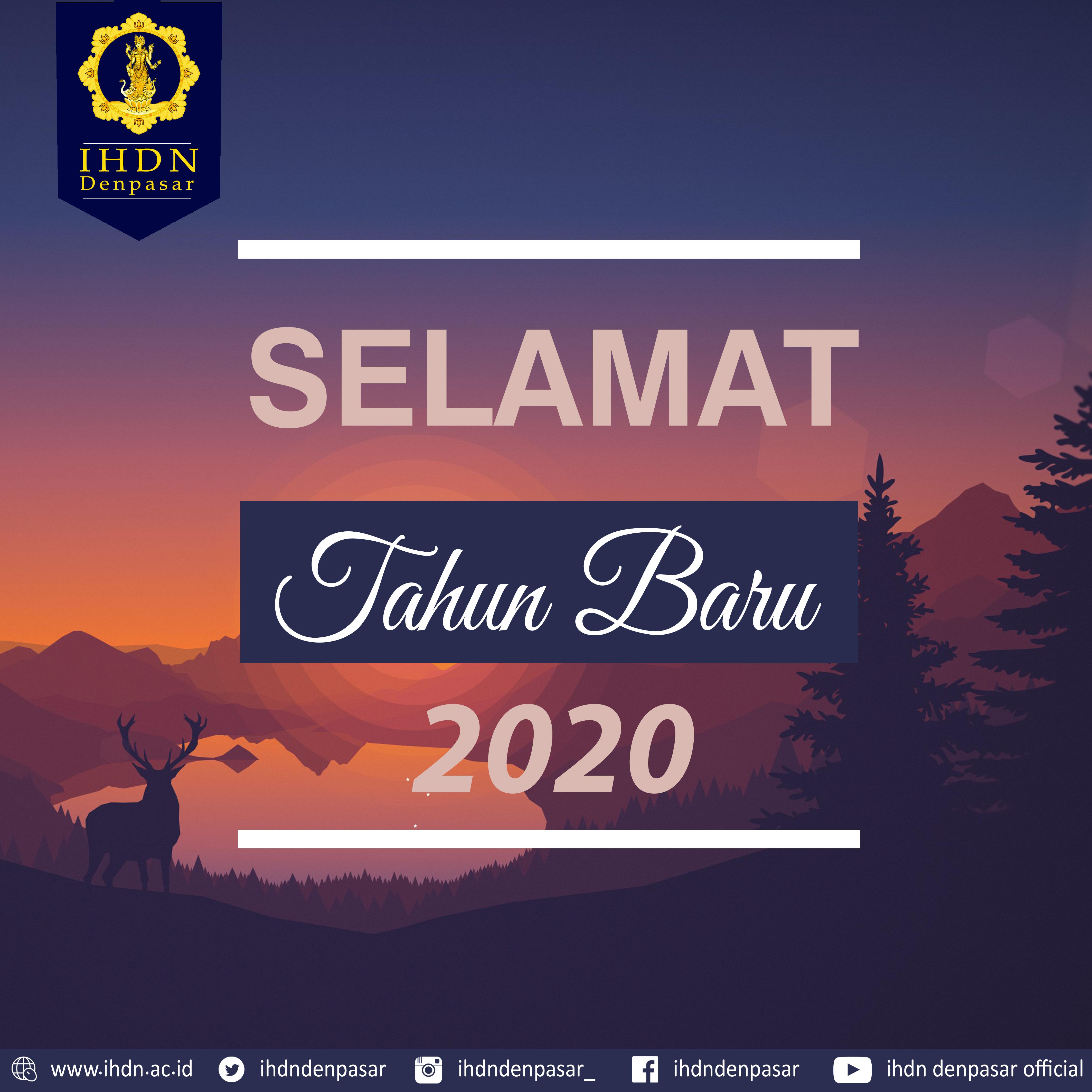 SELAMAT TAHUN BARU 202O