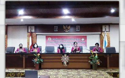 PENGURUS DWP UHN SUGRIWA MASA BHAKTI 2021-2024 RESMI DILANTIK Rektor: DWP sebagai Roh Energi Memajukan Kampus