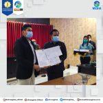 BERSEJARAH, BUPATI BANGLI-REKTOR UHN SUGRIWA TEKEN HIBAH TANAH