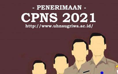 PENGUMUMAN PENERIMAAN CPNS UHN IGB SUGRIWA DENPASAR TAHUN 2021