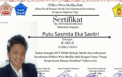 MAHASISWA UHN IGB SUGRIWA RAIH JUARA II LOMBA VIDEO